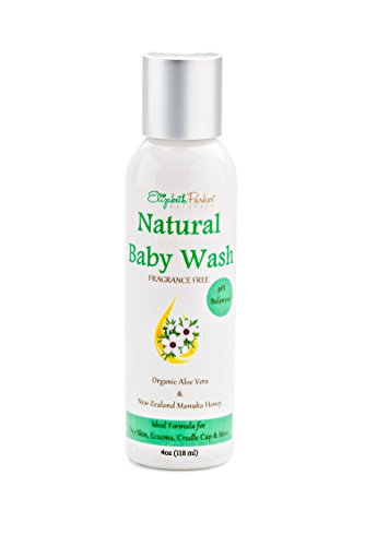 Baby Eczema Face and Body Wash - Relieves Dry, Itchy Irritated Skin - Deeply Moisturizes - Sulfate & Paraben Free - Special Formula with Concentrated Vitamins for Natural Healing - 4ounce