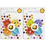 Baby Soft Water Filled Flower Shape Rattle Teether