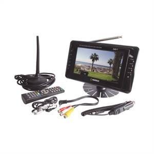 """NIKKAI 7"""" LED PORTABLE DIGITAL MINI TV FREEVIEW USB SD, [Importado de UK]"""