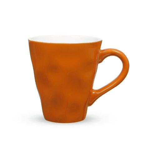 Maxwell & Williams Krinkle Mug, 12.5-Ounce, Orange