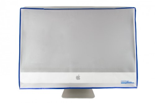 Dust and water resistant silky smooth antistatic vinyl iMac Monitor Dust Cover for 27