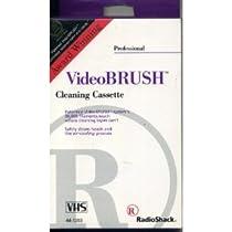 Videobrush Cleaning Cassette Vhs
