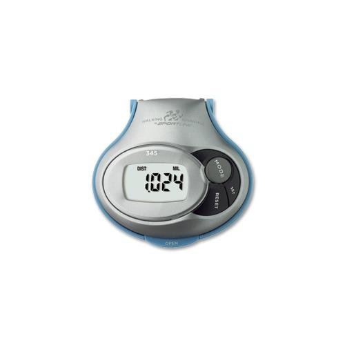 Sportline Electronic Pedometer with Individual Stride Adjustment