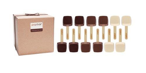 Hot Chocolate on a Stick – 12 Pack Variety Gift Box – Dark, Milk, Vanilla White Chocolate