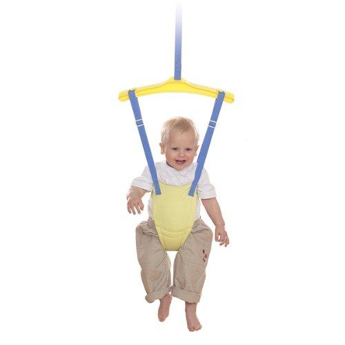 Door bouncers swings uk lindam bounce about baby door for Door jumperoo