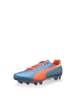Puma Botas de fútbol Evospeed 4.2 Fg (Azul / Naranja)
