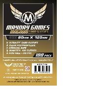 Mayday Games - 100 Magnum Gold Ultra-Fit Sleeves - 80 x 120mm for Dixit and more - 1
