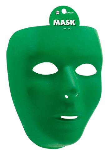 Green Full Face Mask (Standard)