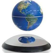 Anti-Gravity Levitating Globe - Realistic Floating and Self Spinning Magnetic Globe