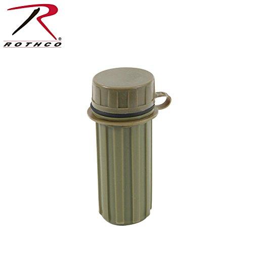 Rothco-Plastic-Match-Box-Olive-Drab