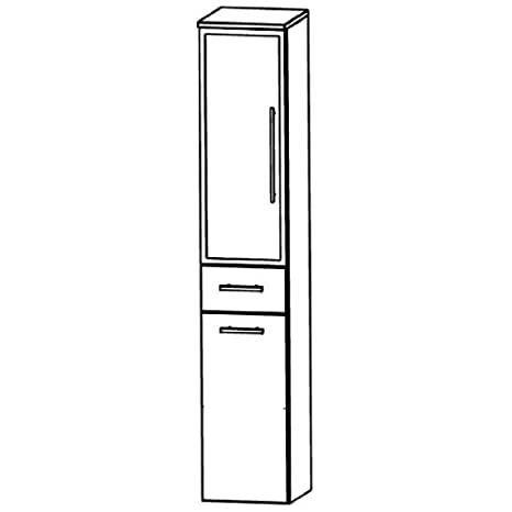In Swing (HNA053B7WL/R) Bathroom Furniture Tall 30 cm