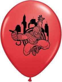 "Marvel Spiderman Assortment 11"" Round Balloons by Qualatex"