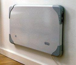 De Longhi Hlp800 Oil Filled Slim Super Panel Heater 800w