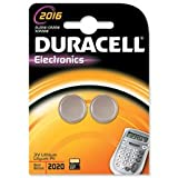 Brand New. Duracell DL2016 Battery Lithium for Camera Calculator or Pager 3V Ref 75072666 [Pack 2]