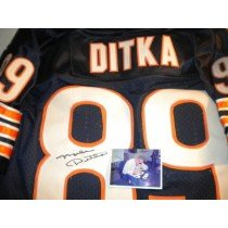 Mike Ditka Chicago Bears Signed Autographed Jersey by SidsGraphs