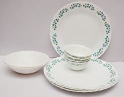 La Opala 19 Pc Dinner Set - Lavender Dew