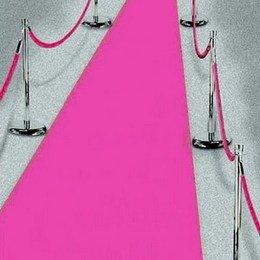 Pink Teppich VIP Deko pink Empfangsteppich Hochzeit Deko 450x61 cm Gay Pink Party
