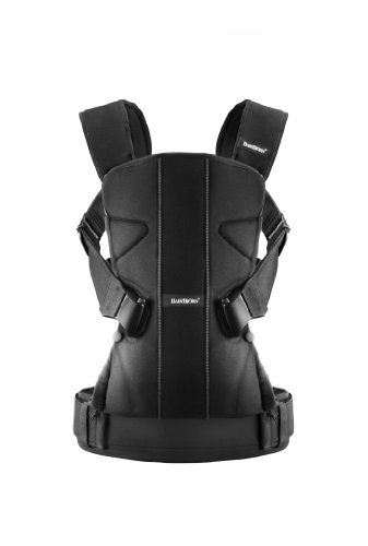 BABYBJORN Baby Carrier One - Black, Cotton Mix Image