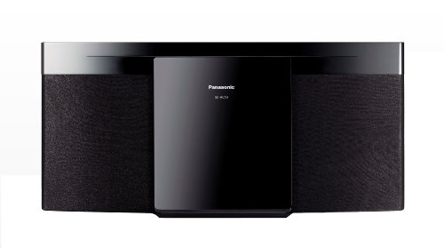 Panasonic SC-HC19EB-K 20W CD and FM Micro Hi-Fi System (New for 2014) Black Friday & Cyber Monday 2014