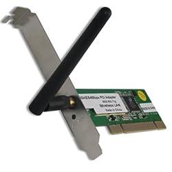54Mbps 802.11g Wireless Wifi Wi-fi LAN PCI Card Desktop PC