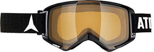 ATOMIC, Maschera da sci e snowboard Savor, Nero (Black/Orange)