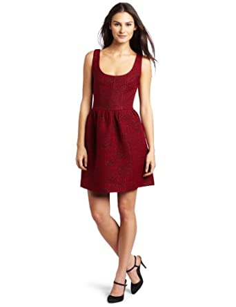 Rebecca Minkoff Women's Mariacarla Tank Dress, Red, 6
