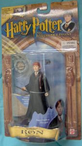 Picture of Mattel Harry Potter and the Sorcerer's Stone - Gryffindor Wizard Collection - Ron Figure (B002RH8O8Y) (Harry Potter Action Figures)