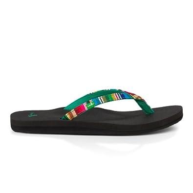Buy Sanuk Ladies Yoga Joy Funk Fabric Sandals by Sanuk