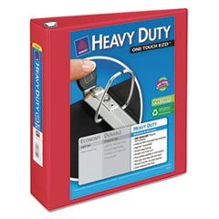 Avery Dennison Heavy-Duty View Binder with One Touch EZD Rings, 2\