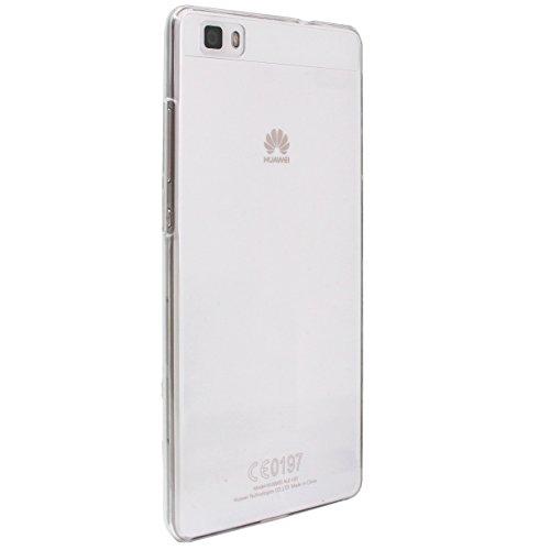 【 透明 シンプル クリア ケース 】 がうがう! Huawei P8 Lite / Y!mobile LUMIERE 503HW 専用 クリアー リア カバー G2-HUAP8L-RC00