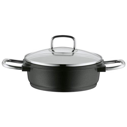 Woll Nowo Titanium-serving Frying Pan 28 x 28 cm 28 Cm black