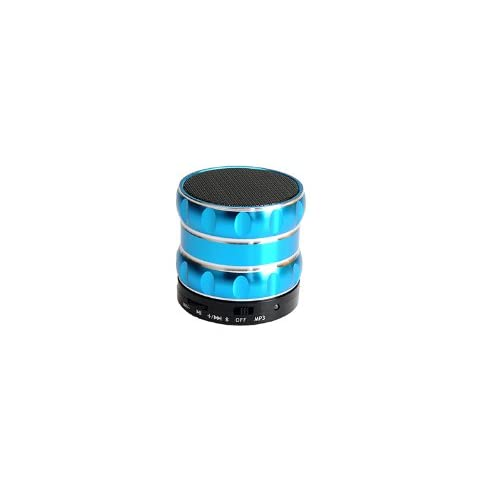 Coluub New Fashion Wireless Bluetooth Portable Mini Speaker With Mic TF For iPhone iPad Android Cellphone Tablet PC Mp3 And More Bluetooth-enabled Devices Battery Included (Blue) deal 2015