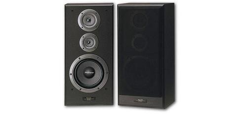 Pioneer 140w HiFi Speakers - Pair , Black