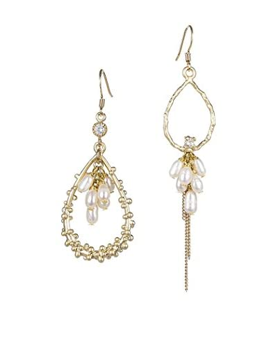 Jardin Beaded Laurel Cluster Freshwater Pearl Earrings