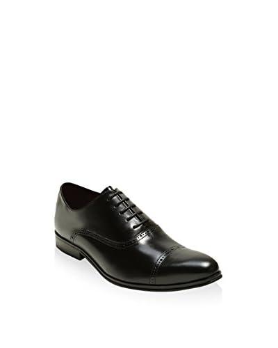 Lorenzo Lucas Zapatos Oxford LG-T0122 Negro Pizarra