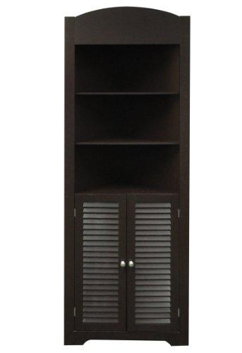 Laundry Room Cabinets Ellsworth Tall Corner Etagere Espresso By Riverridge
