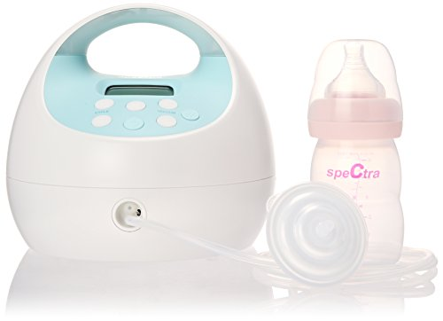 Spectra Baby USA Double/Single Breast Pump with Rechargeable Battery, 3.3 Pound