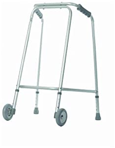 Aidapt - Andador ligero con ruedas para uso doméstico - BebeHogar.com