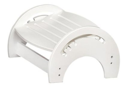 Discover Bargain Nursing Stool White