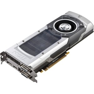 EVGA GeForce GTX TITAN 6GB GDDR5 384bit, Dual-Link DVI-I, DVI-D, HDMI,DP, SLI Ready Graphics Card (06G-P4-2790-KR) Graphics Cards 06G-P4-2790-KR