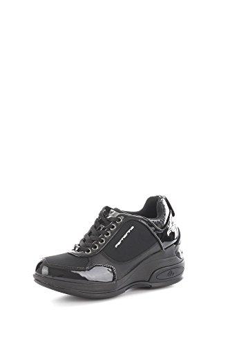 Fornarina PIFDY7615W Sneakers Donna Tessuto Black Black 36