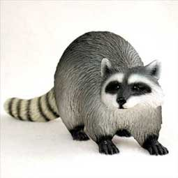 Raccoon Figurine