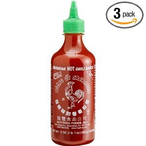 Huy Fong - Sriracha Hot Chili Sauce (Net Wt. 17 Oz.) - 3 Pack