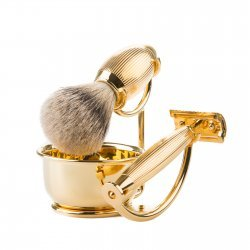 Benjamin Barber Imperial 4-Piece Shaving Set Gold (Set utan rakhyvel)