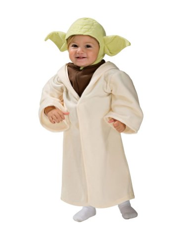 Baby-boys - Yoda Halloween Costume - Toddler 1-2