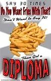 Poster #130 Funny Motivational Poster, Motivating High School Poster, Teacher Motivational Poster