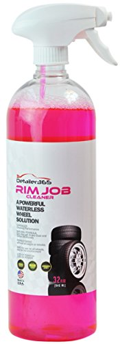 Detailer 365 Rim Job Cleaner - Powerful Waterless Wheel Solution Spray 32 fl oz (Tire Rim Paint compare prices)