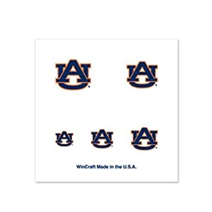 Auburn Tigers Fingernail Tattoos - 4 Pack by S.S. Inc