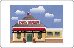 Crazy Burger Gift Certificate ($10)