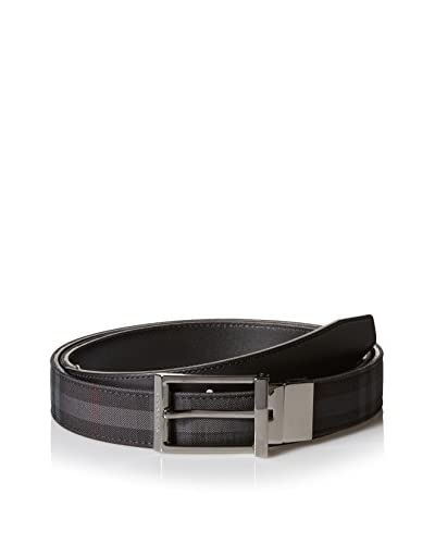 Burberry Men's Striped Trouser Belt